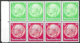 Reich Michel H-Blatt Pane 77 Mlh * 110 Euros For 10 % - Postzegelboekjes