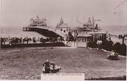 Cd - Postcard WESTON-SUPER-MARE - The Grand Pier - Weston-Super-Mare