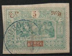 France : Obock N° 5 Oblitéré, Très Belle Oblitération Année 1894 - Oblitérés