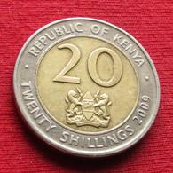 Kenya 20 Shillings 2009 KM# 36.1 Quenia Kenia - Kenya
