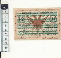 ALBANIE - Billet 1/2 Franc - Korytza, 1917, Armée D'Orient, WW1 - Albania