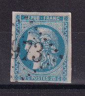 D 150 / LOT BORDEAUX N° 46B OBL COTE 25€ - 1870 Emission De Bordeaux
