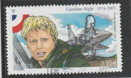 FRANCE 2014 CAROLINE AIGLE POSTE AERIENNE OBLITERE  - PA78 -  PA 78 - - 1960-.... Matasellados