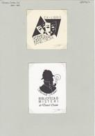 EX-Libris - Sherlock Holmes By Teresa Costa (SP) 1989 - Ex Libris