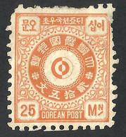 COREEA 1884 NG - Korea (...-1945)