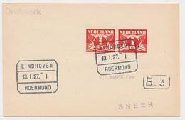 Treinblokstempel : Eindhoven - Roermond I 1927 - Non Classificati