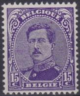 Belgie    .    OBP  .   139a   .   **    .   Postfris  .   /    .   Neuf Avec Gomme Et SANS Charnière - 1915-1920 Albert I