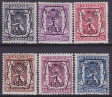 Belgie  .  OBP  .  PO  405/410    .   **    .   Postfris  .   / .   Neuf Avec Gomme Et SANS Charnière - Typo Precancels 1936-51 (Small Seal Of The State)