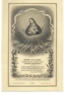 Canivet Celluloïd Holy Card - Santini -  Image Pieuse - Bonamy Ed. Poitiers -  N°33 - Berthiault Imp. Tours - 8  X 12 Cm - Devotieprenten