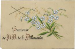 Canivet Celluloïd Holy Card - Santini -  Image Pieuse -Souvenir N.D. De La Délivrance - 7 X 9cm - Devotieprenten