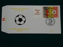 Belgium-Netherlands 2000 Joint Issue European Football FDC VF - 1991-00