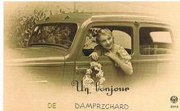 25   UN  BONJOUR    DE  DAMPRICHARD    CPM  TBE  VR529 - Other Municipalities