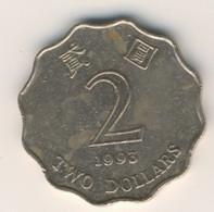 HONG KONG 1993: 2 Dollars, KM 64 - Hong Kong