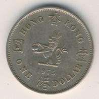 HONG KONG 1975: 1 Dollar, KM 35 - Hong Kong