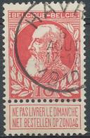 [23529]TB//O/Used-Belgique N° 74, TB Obl 'Havre', Nipa +5? - 1905 Thick Beard