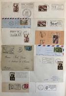 Collection D'environ 110 Oblitérations Mécaniques : Algérie, Monaco, Réunion, ... - Verzamelingen