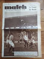 MATCH INTRAN LE PLUS GRAND HEBDO SPORTIF  N°629 06/1938 COUPE DU MONDE FOOTBALL FRANCE BELGIQUE - 1900 - 1949