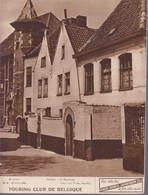 TOURING CLUB DE BELGIQUE. N°8 - 1 Avril 1936.  Courtrai - Le Béguinage / La Fabrication Des Allumettes. - 1900 - 1949