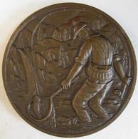 Medaille En Bronze Fédération Des A.P.P. De La Haute Vienne 87 - La Pêche, Par Coutre - Autres