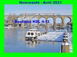 AL 690 - Automotrice Z 21700 Sur Le Viaduc - LAVAL - Mayenne - SNCF - Structures