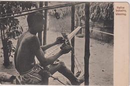 GHANA (Gold Coast) - Native Industry Weaving.  VG Ethnic Etc - Ghana - Gold Coast