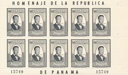 Panama Hommage Au Secrétaire Général De L'ONU Dag Hammars Kjold Michel N° 597 - ONU