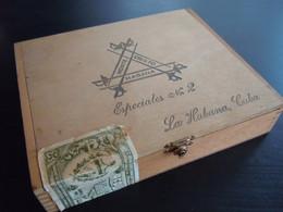 Monte Cristo La Habana Cuba Especiales 2 Houten Kist Voor  Sigaren Boïte En Bois Pour Cigares 20,5 X 17 X 4,3 Cm - Scatola Di Sigari (vuote)