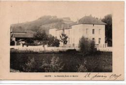 Chatte-La Nouvelle Ecole Et Mairie - Otros Municipios