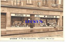 Rouen Rue Jeanne D'arc, Philips Disques Rasoirs Electriques UNC - Rouen