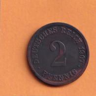 2 Pfennig - 1907 G - Deutsches Reich - 2 Pfennig