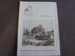 LES ECHOS DE CREVECOEUR N° 2 Régionalisme Bouvignes Dinant Château Moyen Age Eglise St Lambert Meuse Navigation Ben Ahin - Bélgica