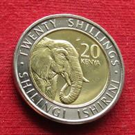 Kenya 20 Shillings 2018 Elephant Quenia Kenia - Kenya