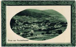 Feldpost-AK Gruß Aus Hundelshausen Bei Witzenhausen 1918 - Andere