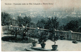 VICENZA - PANORAMA VISTO DA VILLA COLOGNATO - VG 1918 FP - C01457 - Vicenza