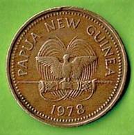PAPUA / NEW GUINEA / 2 TOEA / 1978 - Papua New Guinea
