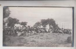 SOMALIA ITALIANA COLONIE BENADIR FOTOGRAFIA  ORIGINALE 1913/1915 CAPI DI BUR TILE  CM 14 X 8 - War, Military