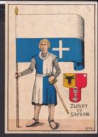 Künstlerpostkarte Luzern Zunft Zu Safran , Bärteli - Essen , Fasnacht  1932 - LU Lucerne