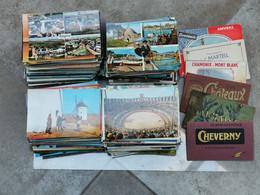 Lot D'environ 800 Cpsm/Cpm/carnets/quelques Cpa - 500 Postcards Min.