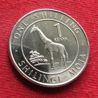 Kenya 1 Shilling 2018 Giraffe Quenia Kenia - Kenya