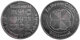 03652 GETTONE TOKEN JETON FICHA PROMOTIONAL ADVERTISING TOKEN WUSTENROT - Unclassified