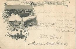 1895 - JESTED  Jeschken Okres LIBEREC , Gute Zustand, 2 Scan - Czech Republic