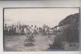 SOMALIA ITALIANA COLONIE BENADIR FOTOGRAFIA ORIGINALE 1913/1915 INDIGENI DI BUR  HACABA  CM 14 X 8 - War, Military