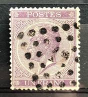 België, 1867, Leopold I, Nr 21A, OBP 110€, Mooie Centrage! - 1865-1866 Linksprofil
