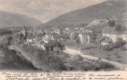 Sierre/Sieders - Vue Prise De Goubin - Voie Ferrée, église - VS Valais