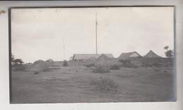 SOMALIA ITALIANA COLONIE BENADIR FOTOGRAFIA ORIGINALE 1913/1915 PANORAMA DI LUGH  CM 14 X 8 - War, Military