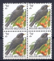 BELGIE * Buzin * Nr 2458 * Postfris Xx * HELDER WIT  PAPIER - 1985-.. Vogels (Buzin)