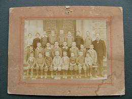 Photo De Classe LARZICOURT 51 Marne Fin 19ème Début 20ème - Anciennes (Av. 1900)