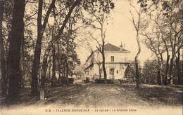 D33  TALENCE  Le Lycée  La Grande Allée  ........  Carte Peu Courante - Altri Comuni