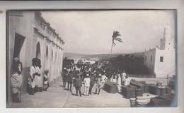 SOMALIA ITALIANA COLONIE BENADIR FOTOGRAFIA ORIGINALE 1913/1915 INGRESSO CORPO OCCUPAZIONE  MERCA  CM 14 X 8 - War, Military