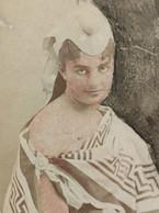 CDV FEMME ORIENTALE EGYPTE DISDERI PHOTO ORIENTAL MIDDLE EAST WOMAN EGYPT PHOTOGRAPHIE EGYPTIENNE EGYPTIAN FOTO - Old (before 1900)